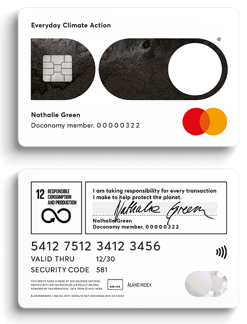Ålandsbanken Doconomy Do Card