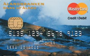 Ålandsbanken - ÅAB-Bankkort-Storm-FI-Credit kombikort
