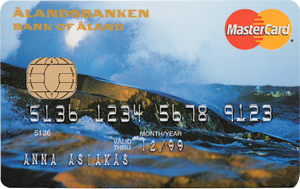 Ålandsbanken - ÅAB-Bankkort-Storm-FI MC-kreditkort