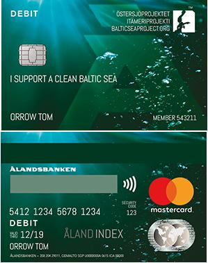 Ålandsbanken - Ostersjoprojektet Debitcard Finland